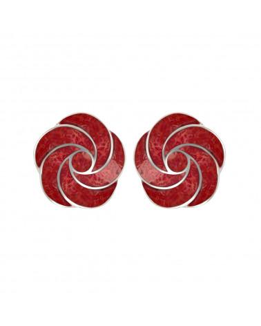 Aden's Jewels-Pendentif-Argent 925 K-Femme-Corail-Rouge-Monture branche de coraux-Dimension 30 mm X 20 mm