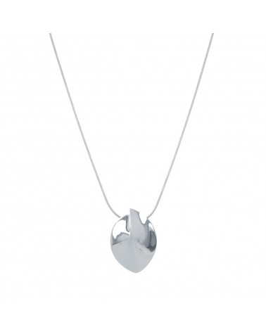 Collar Madre perla blanca Plata de Ley 925