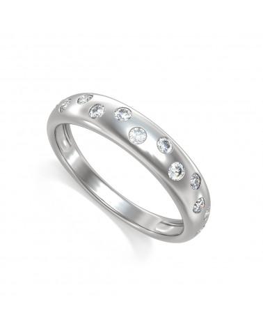 Anelli Diamanti Argento 925