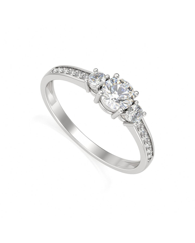 Anelli Oro Diamanti 1.7grs